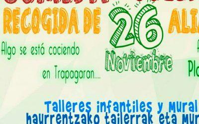 Comida solidaria en Trapagaran