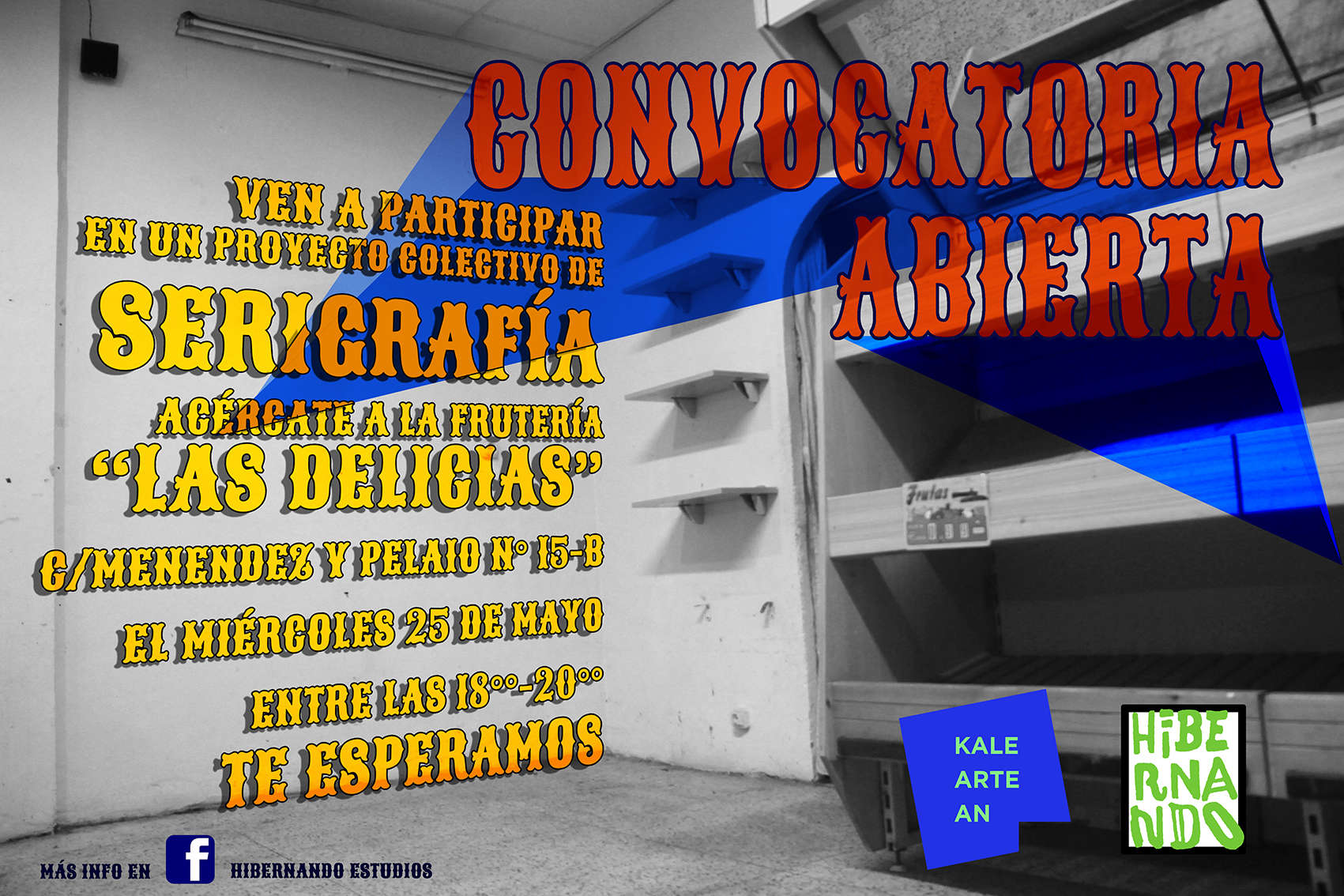 cartel Convocatoria KalearteanPeque